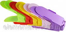 Двойная стойка для обуви Supretto Home набор 10 шт Разноцветный