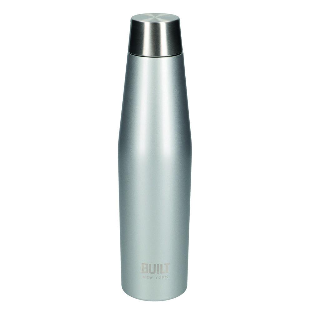 Бутылка металлическая Built Active, с двойными стенками, серая, 540 мл
