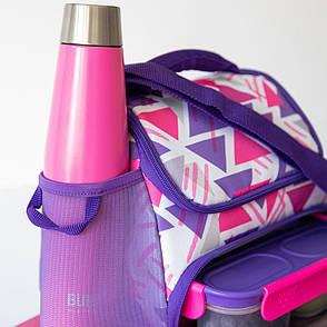 Бутылка металлическая Built Active, с двойными стенками, розовая, 540 мл, фото 2