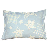 Подушка детская силиконовая Руно Blue star голубая 40х60 см