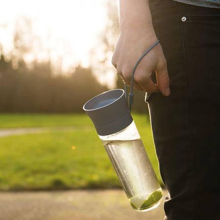 Бутылка для воды LEO, пластиковая, 0,5 л, фото 2