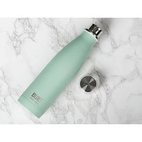 Бутылка металлическая Mint, с двойными стенками, салатовая, 500 мл, фото 2