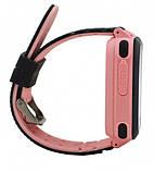 Детские умные часы UWatch F3 с GPS Pink, фото 4
