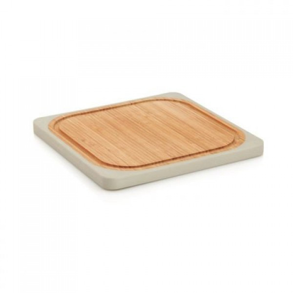 Доска кухонная квадратная бамбуковая 25х25 см BergHOFF 8500187