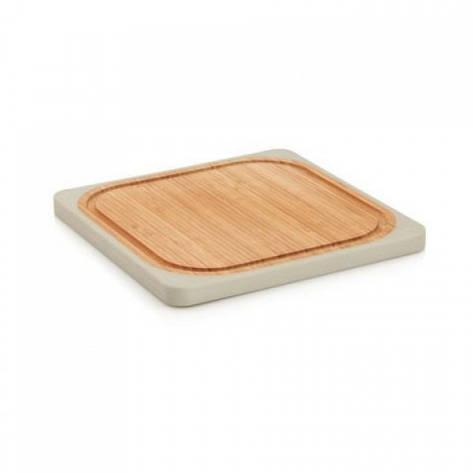 Доска кухонная квадратная бамбуковая 25х25 см BergHOFF 8500187, фото 2