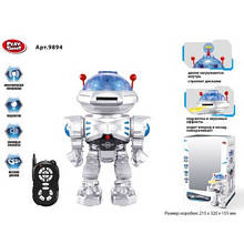 Дитячий робот іграшка музичний робокоп на радіоуправлінні