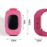 Детские умные часы Smart Watch Q50 Розовые, фото 4