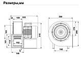 Вентилятор Улитка Bahcivan OBR 200 T-2K, фото 4