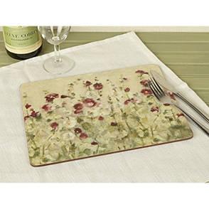 Доска кухонная Wild Field Poppies стекло 38х48 Creative Tops 5233433, фото 2