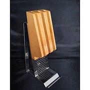 Подставка для трех ножей низкая Open Kitchen 34см Rosle R16800