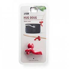 Подставка для ложки Hug Doug красная 5,7см Monkey Business MB811, фото 3