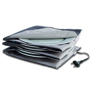 Подогреватель для 10 тарелок антрацит/серый 33 х 34 см SOLIS 906.29, фото 2