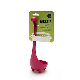 Половник кухонный Nessie пурпурный 24,5см пластиковый OTOTO OT814, фото 2