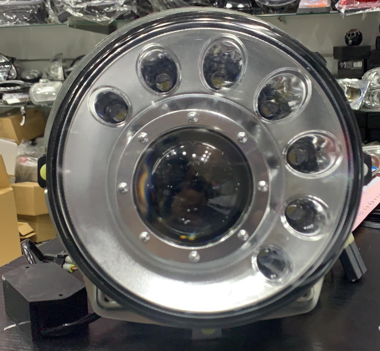 Передняя оптика Мanor (большой тип, 2006-2017) Mercedes G klass W463 1990-2018 гг. / Передние фары Мерседес