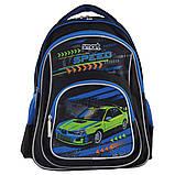 Рюкзак шкільний Smart ZZ-01 Tear Up The Track Синій, фото 4