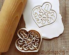 3Д Формочка ко Дню Влюбленных Замок в форме сердца | Вырубка на день святого Валентина | Вырубка для пряников