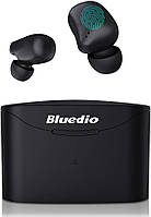 Беспроводные Bluetooth наушники Bluedio T Elf 2 с зарядным боксом гарнитура bluetooth блутуз беспроводные