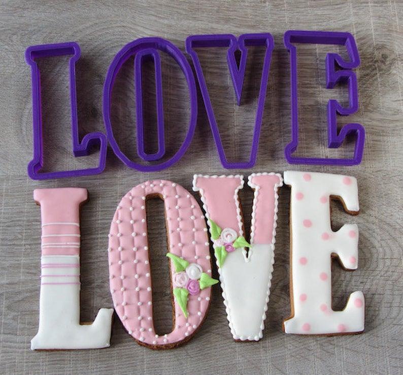 3Д Формочка до Дня Закоханих Серце-пончик | Вирубка на день святого Валентина | Вирубка для пряників