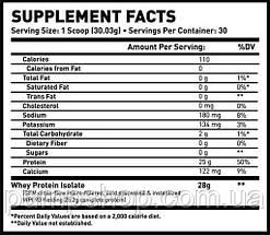 Протеїн ізолят сироваткового білка MAN Sports ISO-Protein 915 г, фото 3