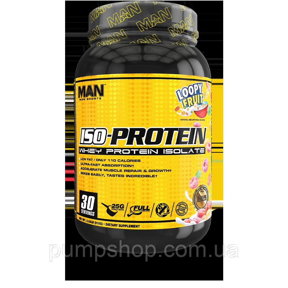 Протеїн ізолят сироваткового білка MAN Sports ISO-Protein 915 г