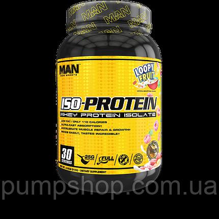 Протеїн ізолят сироваткового білка MAN Sports ISO-Protein 915 г, фото 2