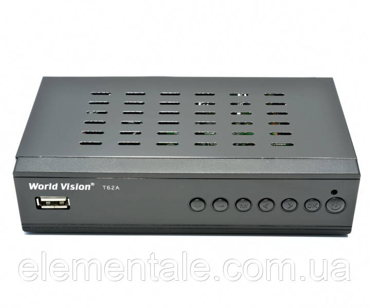 "Т2 ресивер ТМ""WORLD VISION"" T62A+YouTube+IPTV + пульт"