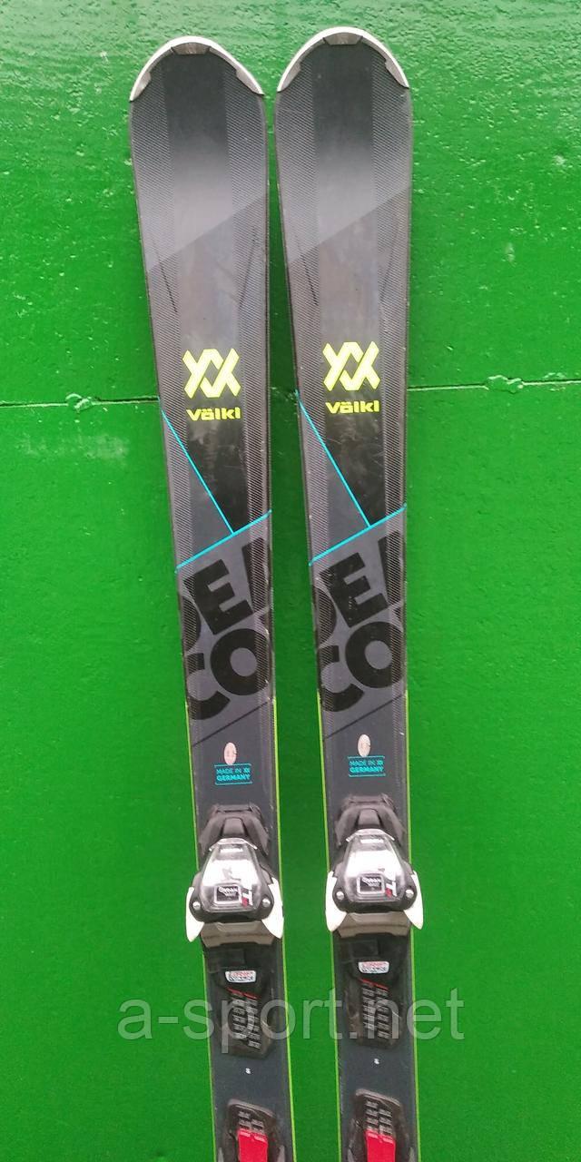 Гірські лижі бу Völkl deacon xtd black 161 см, карвінг, універсал 2020р