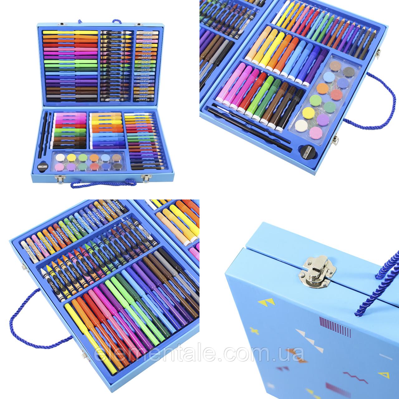 Набор для детского творчества и рисования Painting Set 106 предметов Blue