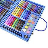 Набор для детского творчества и рисования Painting Set 106 предметов Blue, фото 2