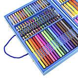 Набор для детского творчества и рисования Painting Set 106 предметов Blue, фото 3