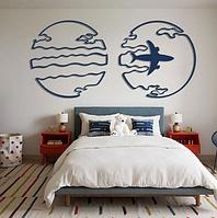 Картина з фанери «Compass Map»