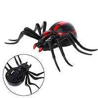 Паук радиоуправляемый красноспинный светящийся Spider