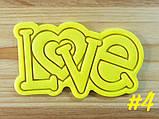 3Д Формочка ко Дню Влюбленных Love хештег # | Вырубка на день святого Валентина | Вырубка для пряников, фото 6
