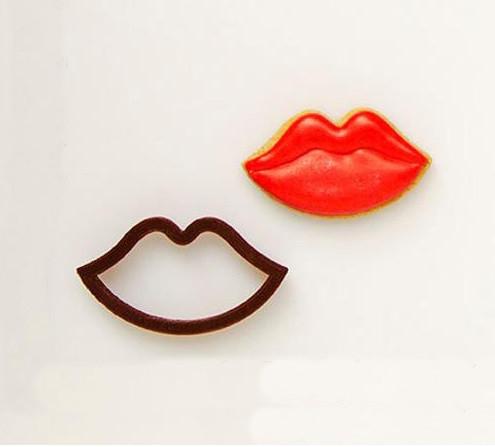 3Д Формочка ко Дню Влюбленных Губы | Вырубка на день святого Валентина | Вырубка для пряников