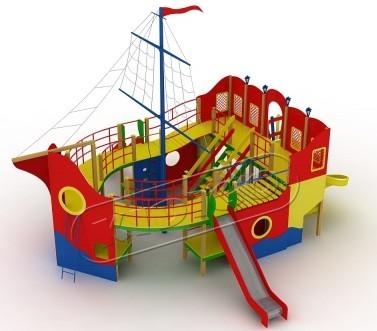 Детский комплекс Пираты