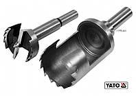 Сверла по дереву: коронка и фреза YATO 35 мм 110/90 мм 2 шт