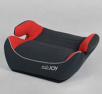 Детский бустер-сиденье автомобильное JOY 30448 группа 2/3, вес ребенка 15-36 кг