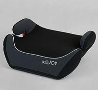 Детский бустер-сиденье автомобильное JOY 43616 группа 2/3, вес ребенка 15-36 кг