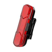 Велосипедный фонарь задний габаритный маячoк 8821-5COB micro USB, встроенный аккумулятор, фото 1