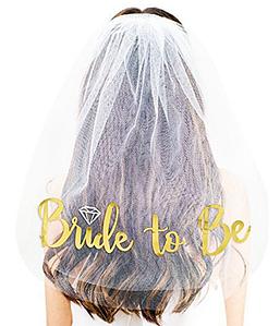 "Фата для девичника ""Bride to be"""
