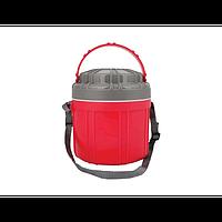 Термос Con Brio СВ-375 2,5 л, харчовий, 4 контейнери, пластикова колба Con Brio СВ-375