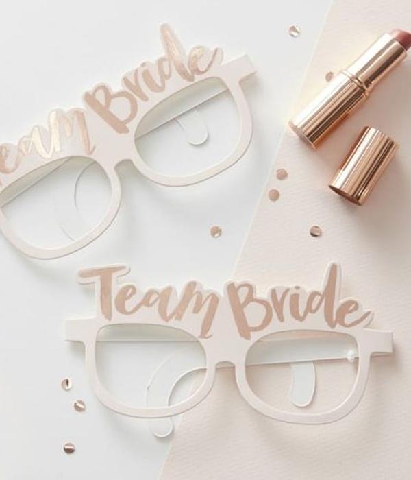 """Очки для фотосессии """"Team bride"""" (1 шт.)"""
