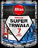 Супер стойкая эмаль Altax Super Trwala Emalia (Чёрная глянцевая) 0,75 л