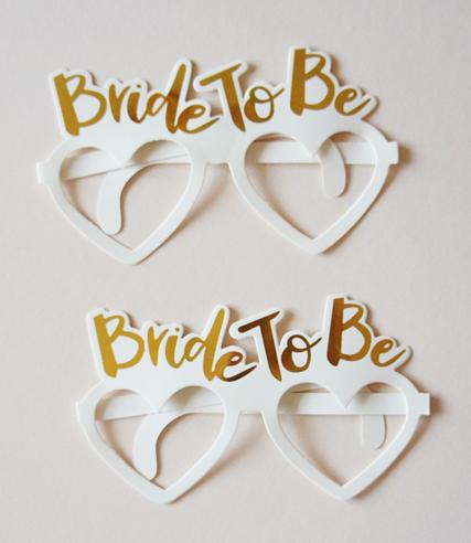 """Очки для фотосессии """"Bride to Be"""" (1 шт.)"""