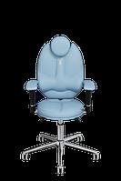 Детское эргономичное кресло KULIK SYSTEM TRIO Светло-синее 1404, КОД: 1335569