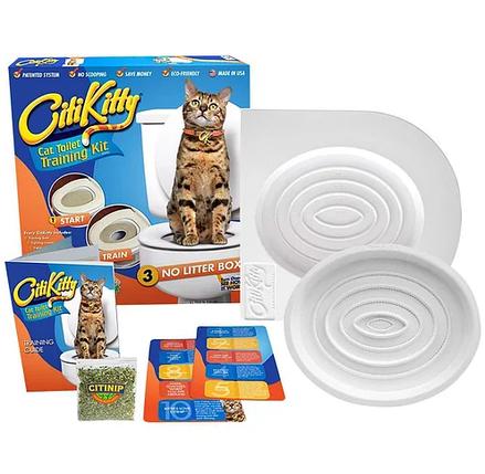 Набір для привчання котів до туалету CitiKitty Cat Toile, фото 2