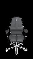 Антибактериальное кресло KULIK SYSTEM NANO Серебристое 1604, КОД: 1335555