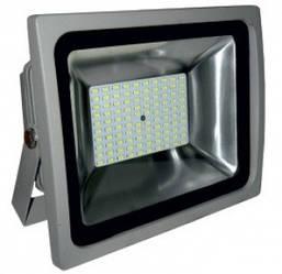 Прожектор LED 50Вт 6500K IP65 100Led Lemanso серый