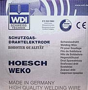 Сварочная проволока SG-Draht Hoesch WEKO 2 / Германия, фото 2