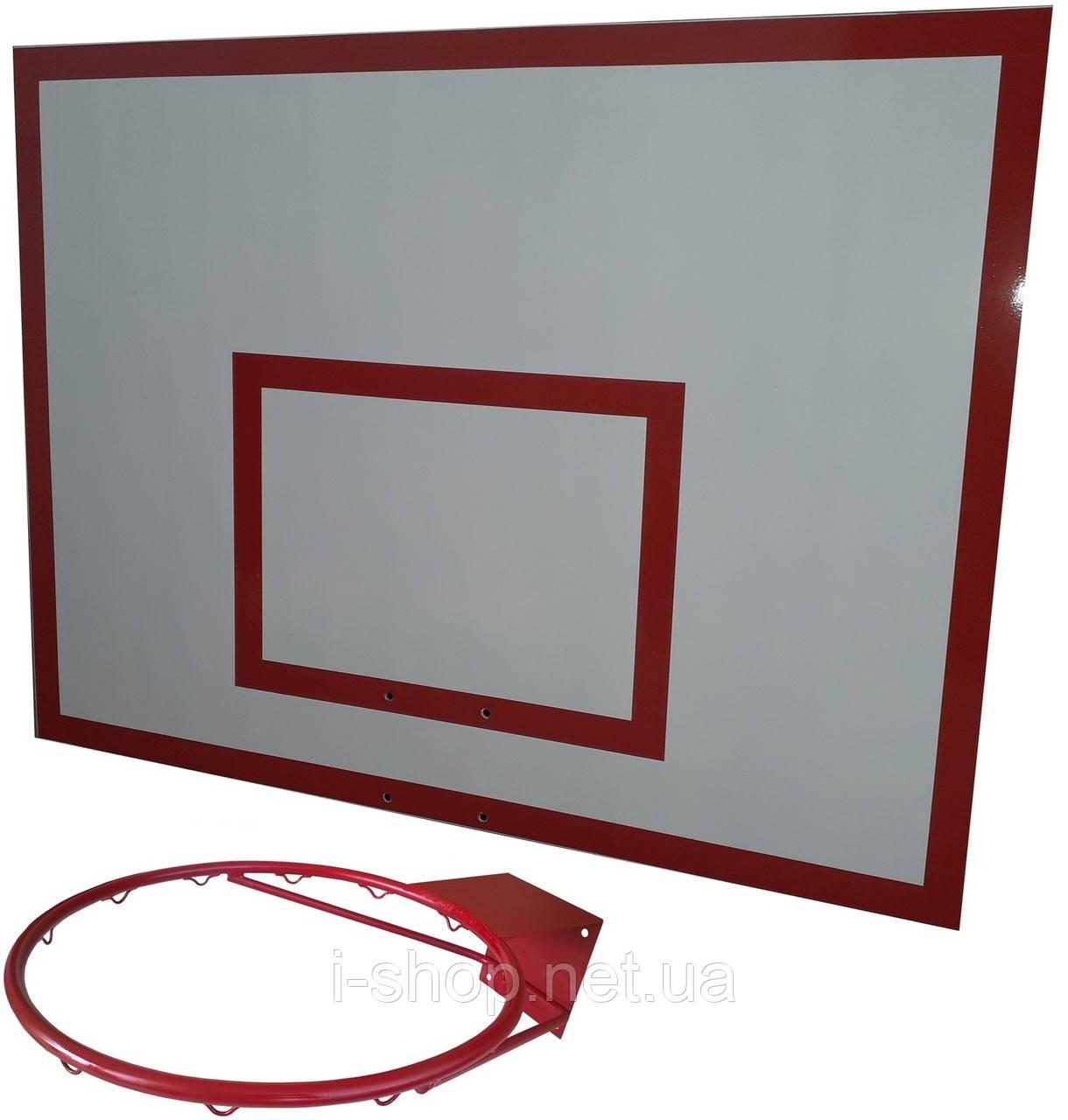 Щит баскетбольный металлический (90*120 см)